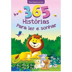 Livro Infantil Ilustrado 365 Historias Para Ler E Sonha Ciranda
