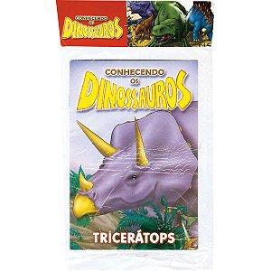 Livro Infantil Ilustrado Conhecendo Os Dinossauros Bicho Esperto