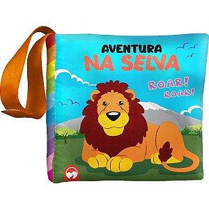 Livro Infantil Ilustrado Liv.pano Aventura Na Selva Vale Das Letras