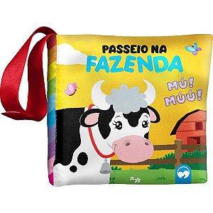 Livro Infantil Ilustrado Liv.pano Passeio Na Fazenda Vale Das Letras