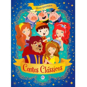 Livro Infantil Ilustrado Meus Queridos Contos Classicos Ciranda