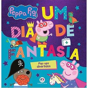 Livro Infantil Ilustrado Peppa Pig Pop Up Dia De Fantas Ciranda