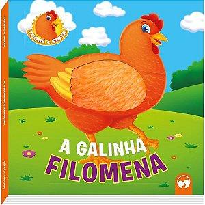 Livro Infantil Ilustrado Toque E Sinta Galinha Filomena Vale Das Letras