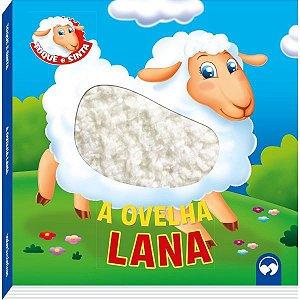 Livro Infantil Ilustrado Toque E Sinta Ovelha Lana Vale Das Letras
