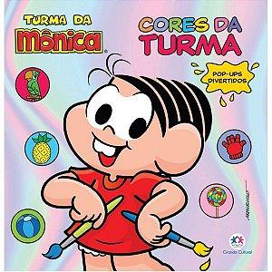 Livro Infantil Ilustrado Turma Da Monica Pop Up Cores D Ciranda