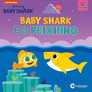 Livro Leitura Baby Shark E O Peixinho Culturama