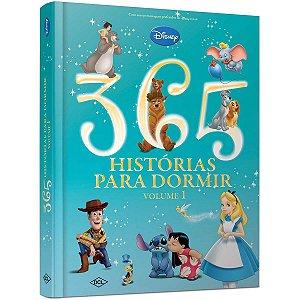 Livro Leitura Disney 365 Hist. P/ Dormir V.1 Dcl