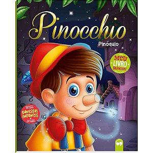 Livro Leitura Pinoquio Bilingue C/cd Vale Das Letras
