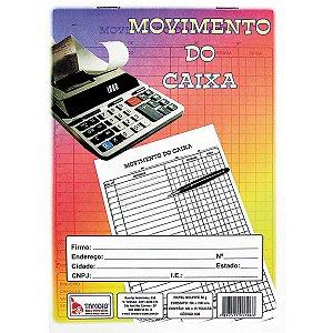 Livro Movimento Caixa 1/4 100 Folhas Tamoio