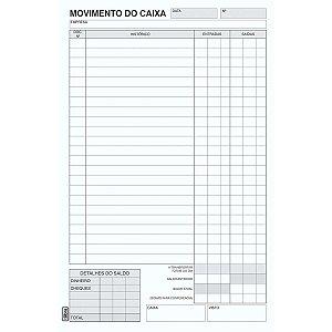 Livro Movimento Caixa Oficio 100 Folhas Tilibra