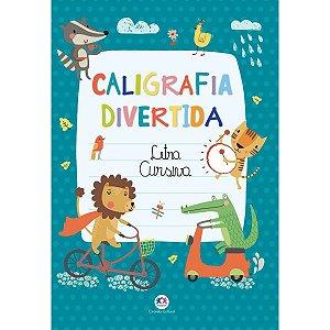 Livro Pedagogico Caligrafia Alfabeto Letra Cursiva 16Pgs Ciranda