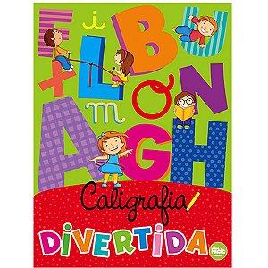 Livro Pedagogico Caligrafia Divertida 48Pgs Ciranda