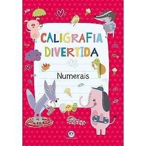 Livro Pedagogico Caligrafia Numerais 16Pgs Ciranda