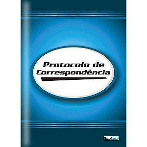 Livro Protocolo Correspond. 1/4 100 Folhas Sao Domingos