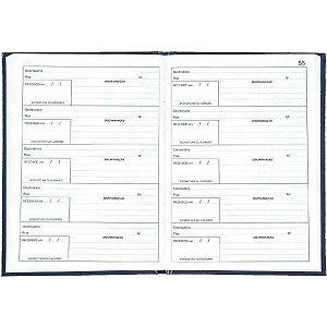 Livro Protocolo Correspond. 1/4 50 Folhas Tilibra