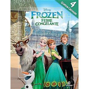Livro Quebra-Cabeca Frozen 8Pgs Culturama