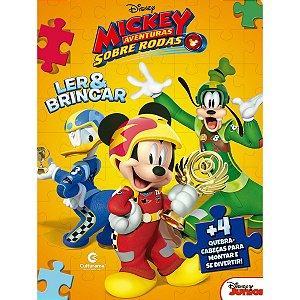 Livro Quebra-Cabeca Mickey 8Pgs Culturama