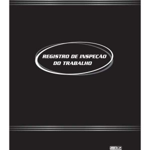 Livro Registro Inspecao Do Trabalho 50F.22X32 Sao Domingos