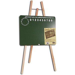 Lousa Infantil Cavalete Verde 40X30Cm Cortiarte