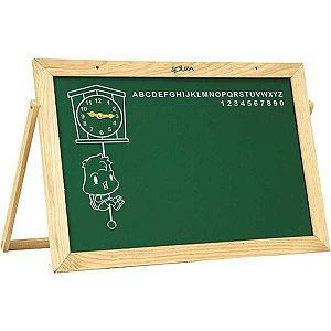 Lousa Infantil Quadro C/alfab./relogio 60X40 Souza
