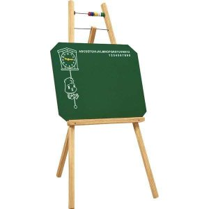 Lousa Infantil Quadro C/alfab./relogio/cont. Souza