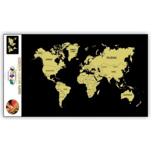 Mapa Mundi Magico 60X40 C/palheta Off Paper