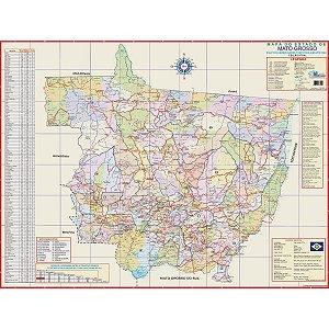 Mapa Periodico Est. De Mato Grosso Multimapas