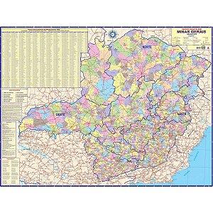 Mapa Periodico Est. De Minas Gerais Multimapas