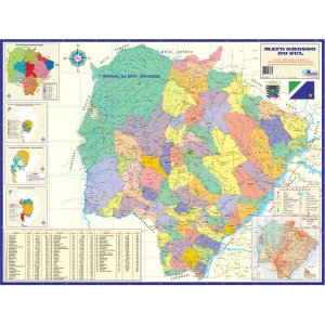 Mapa Periodico Est. Mato G. Do Sul Multimapas