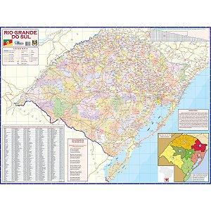 Mapa Periodico Est.de Rio Gd Do Sul Multimapas