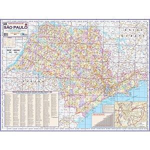 Mapa Periodico Estado De Sao Paulo Multimapas