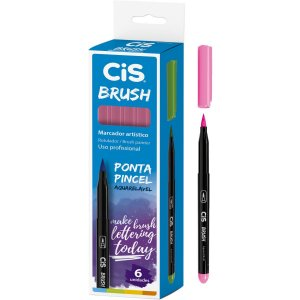 Marcador Artistico Cis Brush N.22 Rosa Sertic