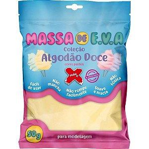 Massa De Eva Amarelo Pastel 50G. Algodao D0 Make+