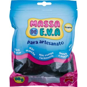 Massa De Eva Preto 50G Make+