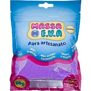 Massa De Eva Roxo 50G Make+