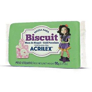 Massa De Porcelana Fria Biscuit 90G Verde Musgo Acrilex