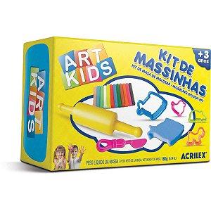 Massa Para Modelar Criativa Art Kids 2 180G.c/moldes Acrilex