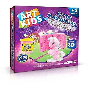Massa Para Modelar Criativa Art Kids Baby Poney 1 150G Acrilex