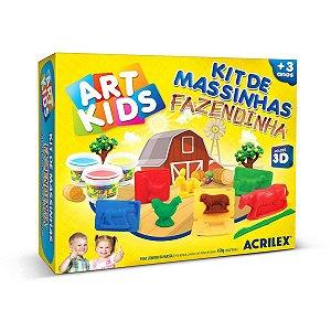 Massa Para Modelar Criativa Art Kids Fazendinha 3D Acrilex