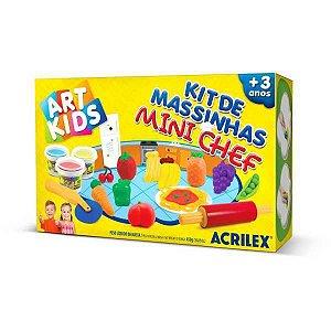 Massa Para Modelar Criativa Art Kids Mini Chef Acrilex