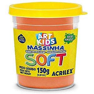 Massa Para Modelar Soft 150G.laranja Bs.amido Acrilex