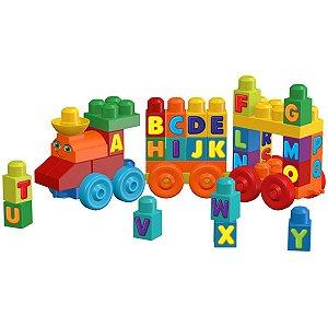 Mega Bloks Trem Musical Abc Mattel