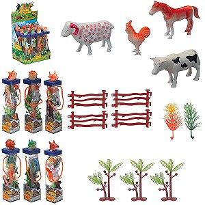 Miniatura Colecionavel Animais Do Mundo Sortidos Art Brink