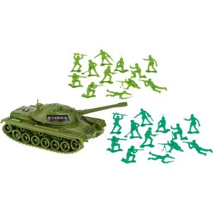Miniatura Colecionavel Forcas Armadas C/tanque+57Pc Gulliver