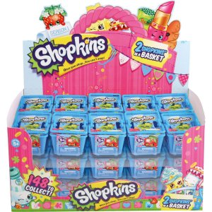 Miniatura Colecionavel Shopkins Display Modelos Sort. Dtc