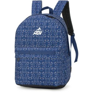 Mochila Escolar Adv Gd 3Bolsos Azul Luxcel