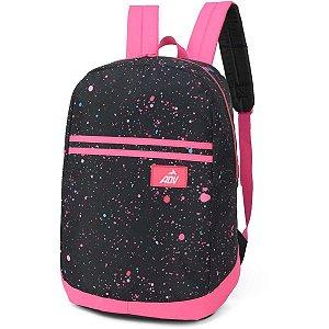 Mochila Escolar Adv Gd Pink Luxcel