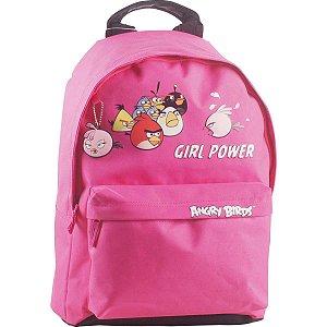 Mochila Escolar Angry Birds Md 1Bolso Pink Santino
