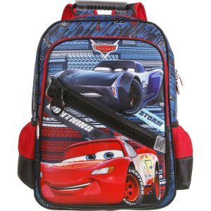 Mochila Escolar Carros Polinylon G Dermiwil