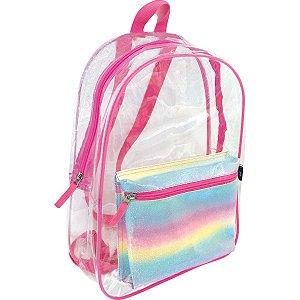 Mochila Escolar Glitter Sortido Kit